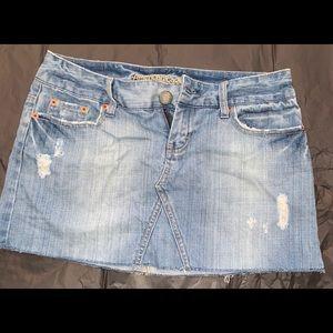 American Eagle Jean skirt size 4